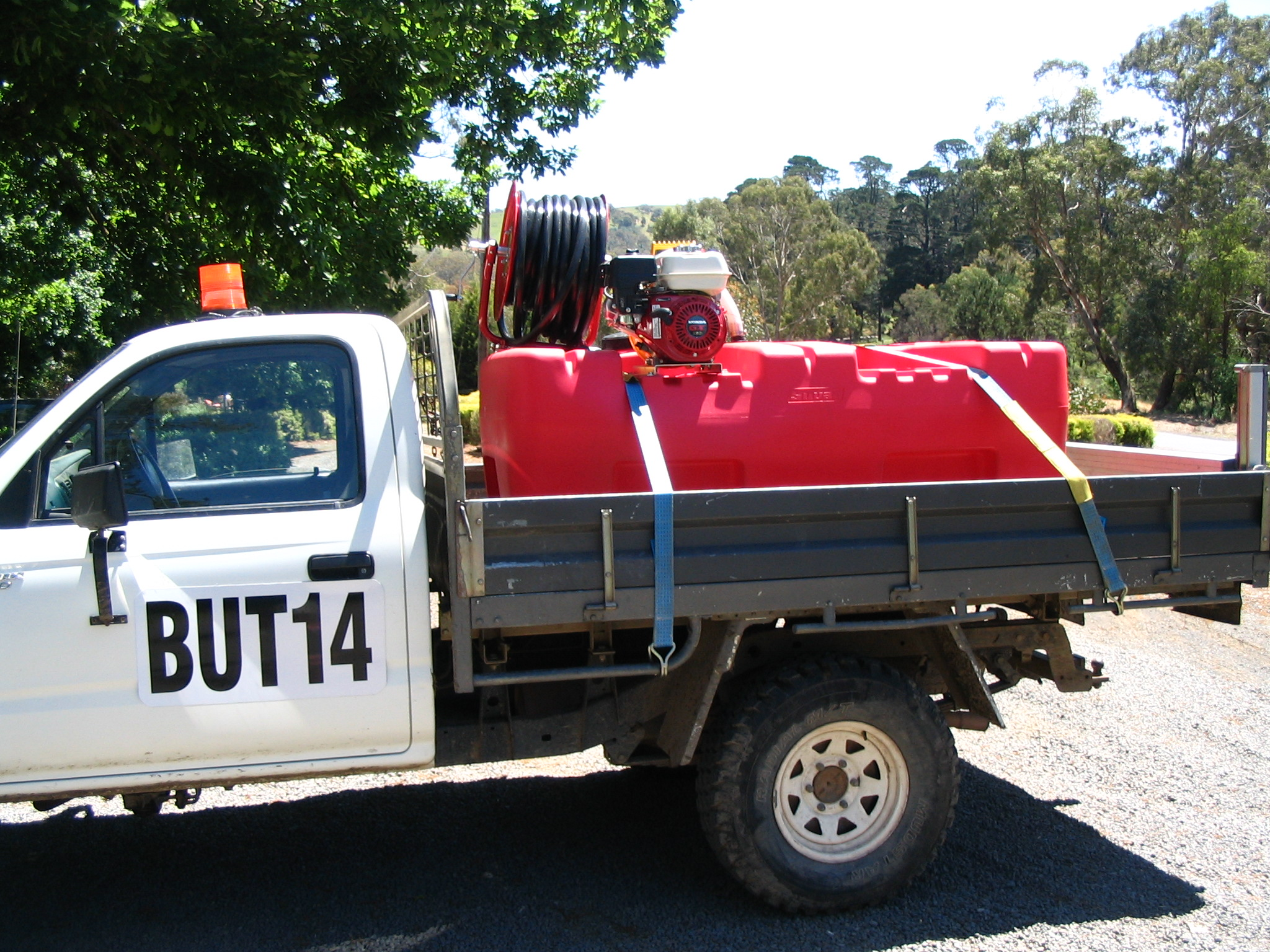 A private firefighting slip-on unit