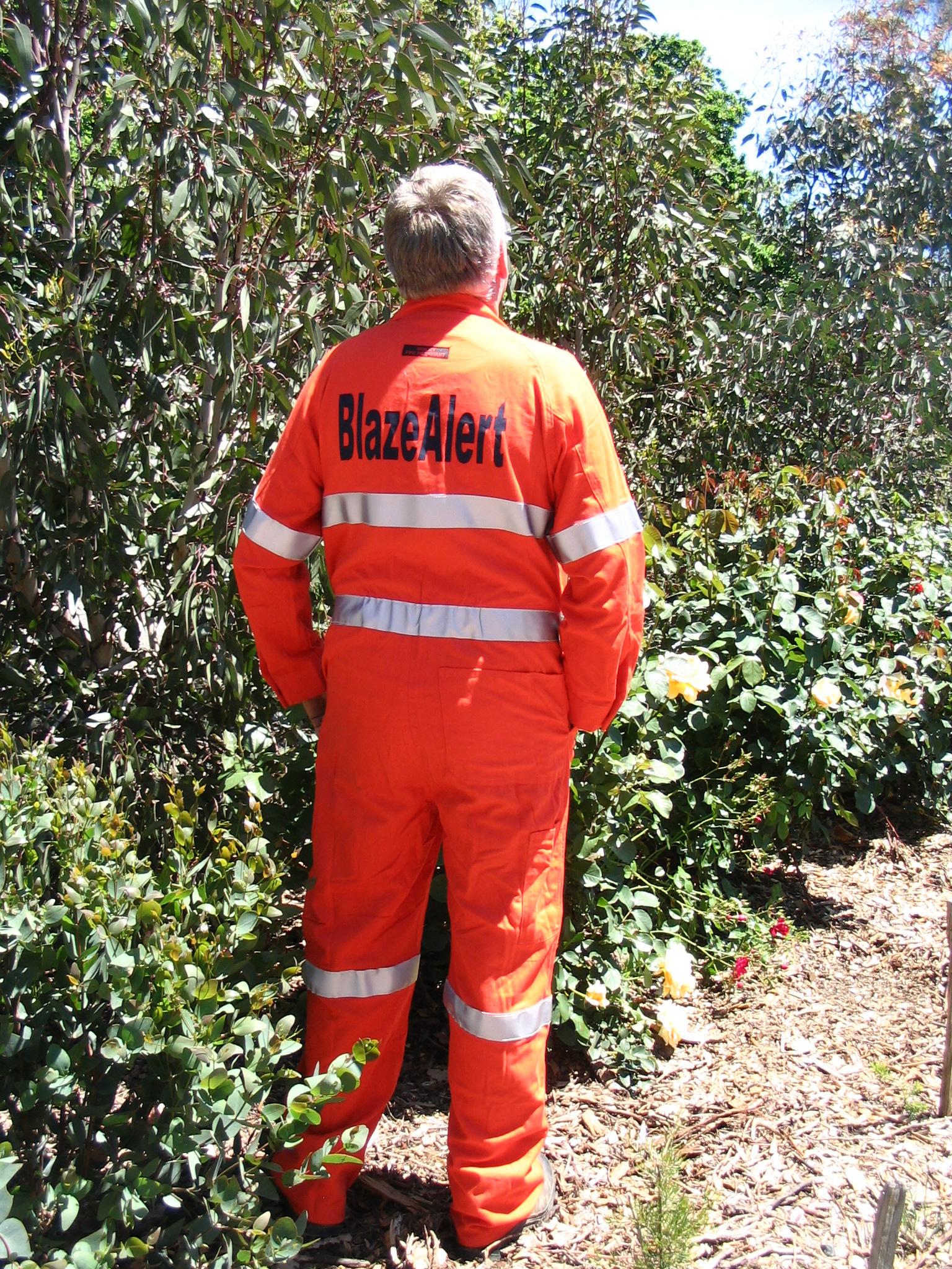Coveralls - back view